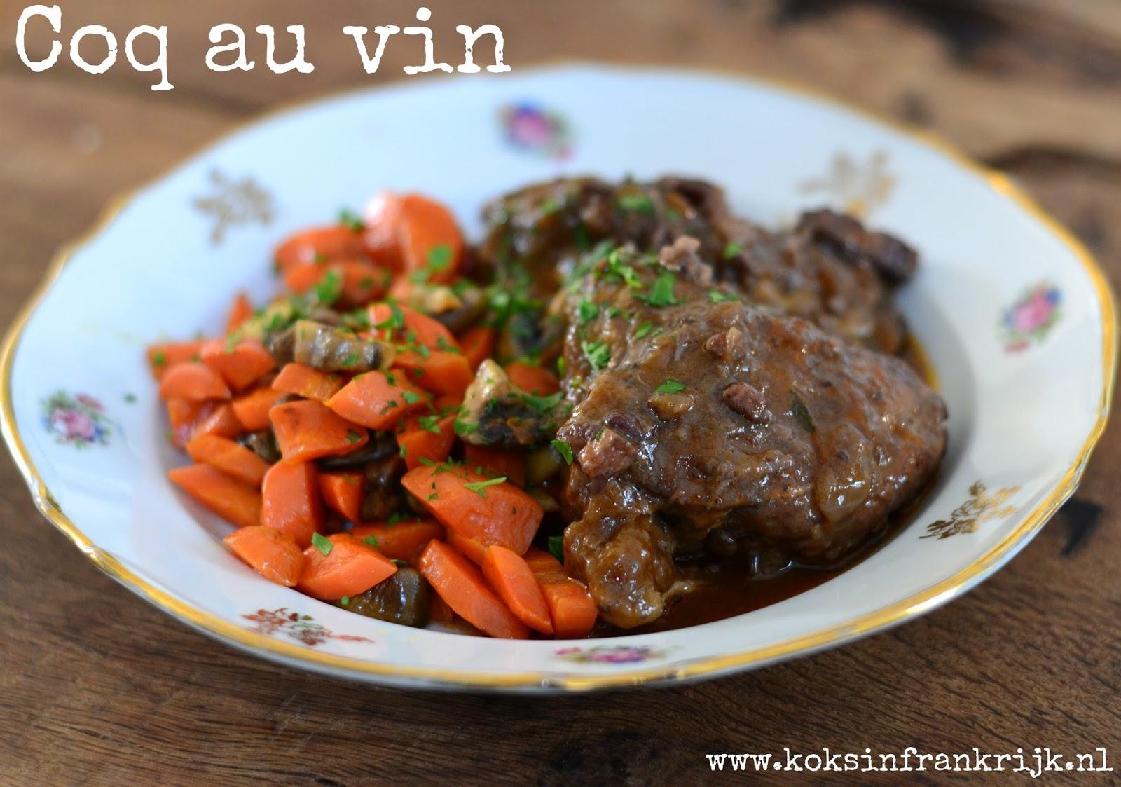 Franse klassiekers: recept voor coq au vin