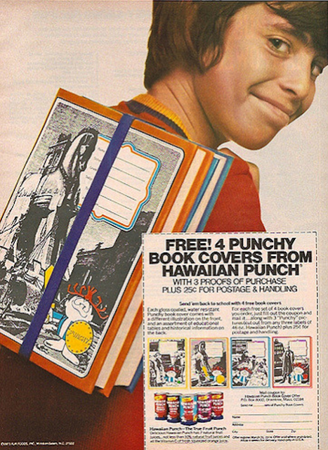Free Punchy Book Cover from Hawaiian Punch Ad