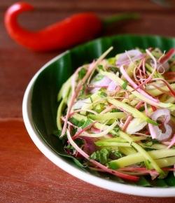 what is kerabu salad?
