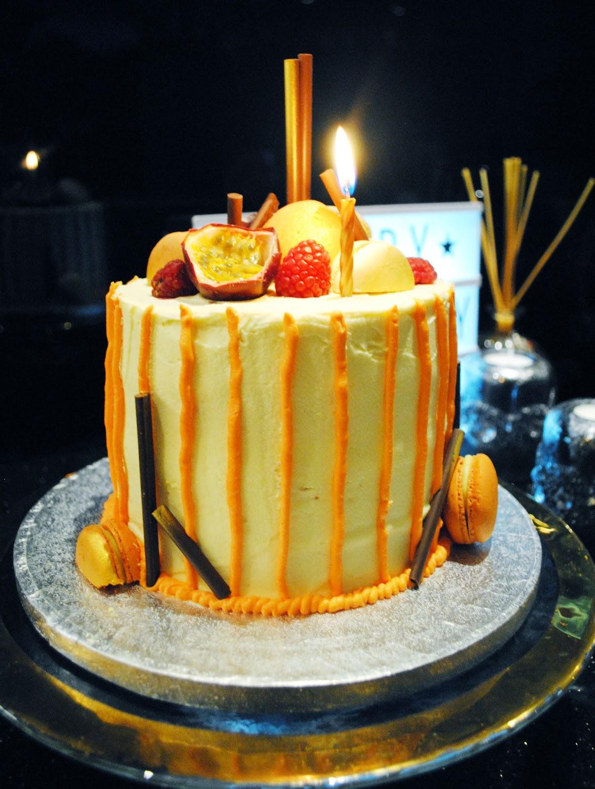 Sharkett Sisters Passion Fruit Raspberry And White Chocolate Cake