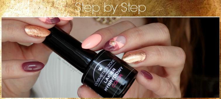 paznokcie hybrydowe semilac, cosmetics zone