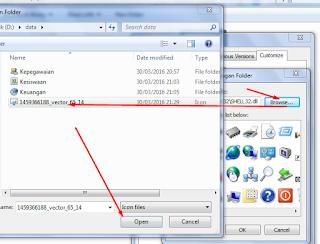 cara mengubah ubah icon folder sendiri
