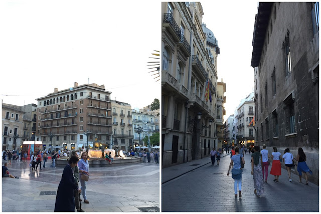 Valencia Altstadt Plaza de la Virgen 10 tipps Citytrip Old town