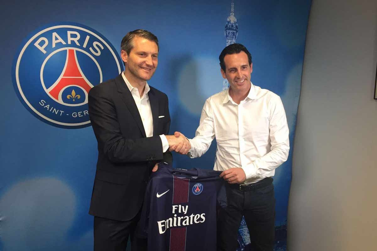 Unai Emery nuevo DT del Paris Saint Germain