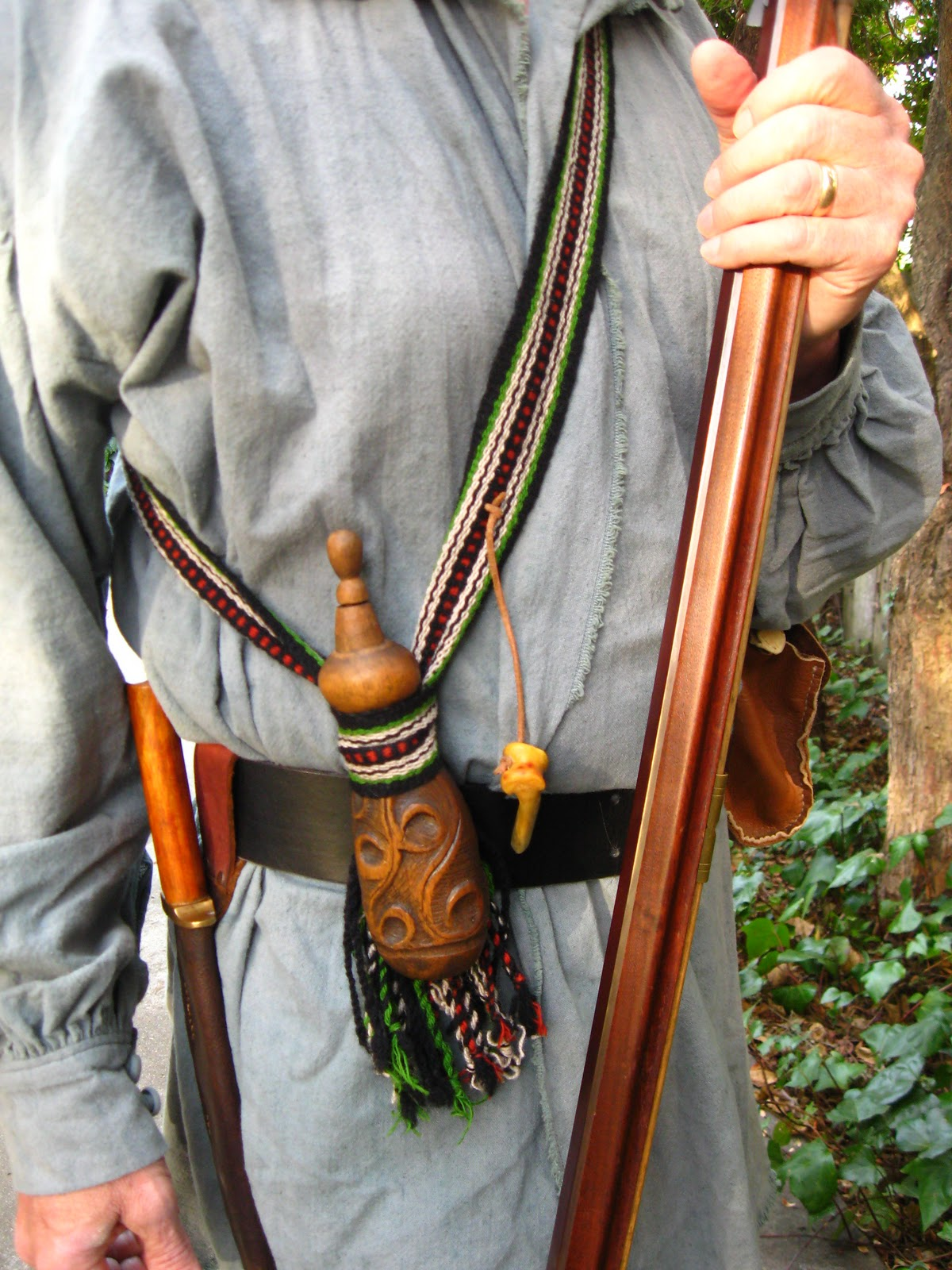 Aspinnerweaver Bags Straps And Powder Horns