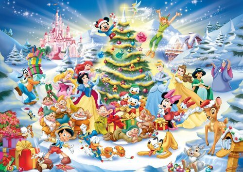 Merry Christmas Images Disney 2017