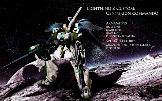 "CUSTOM BUILD: LIGHTNING Z CUSTOM ""CENTURION COMMANDO"""
