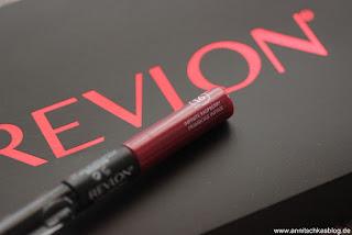 Review: REVLON ColorStay Overtime Lipcolor 005 - www.annitschksablog.de
