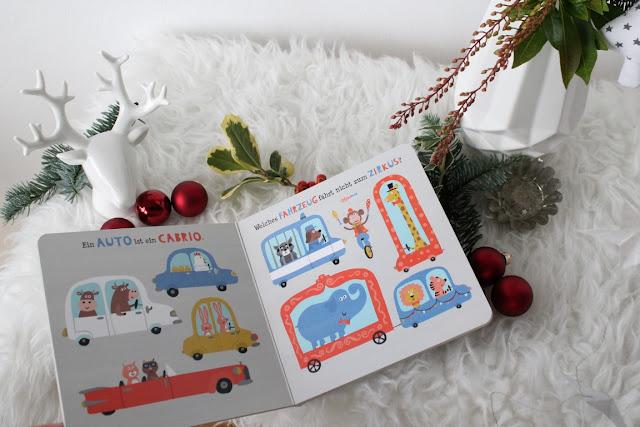 Geschenkideen zu Weihnachten fuer Babys Kleinkinder Buch Fahrzeuge Jules kleines Freudenhaus