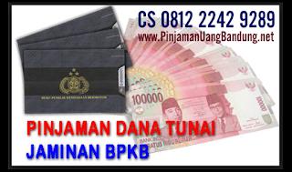 Dana Tunai Jaminan BPKB Motor di Bandung