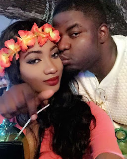 Skales and girlfriend Sarah Osagie