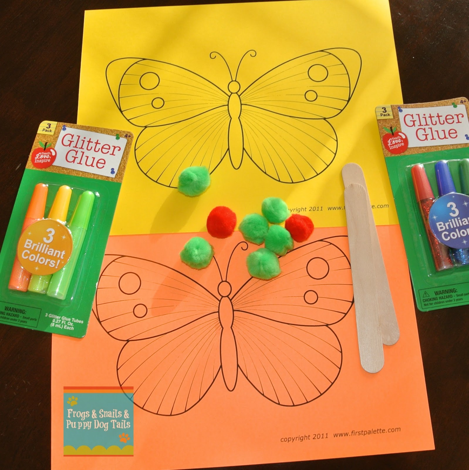 Butterfly Craft (a Great Activity For The Very Hungry