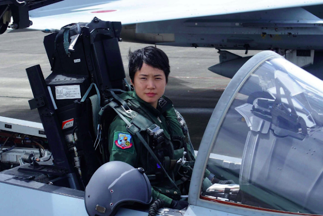 meet the 26-year-old first japan female pilot