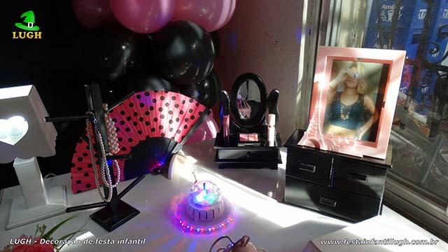 Mesa temática Paris - Festa de aniversário provençal
