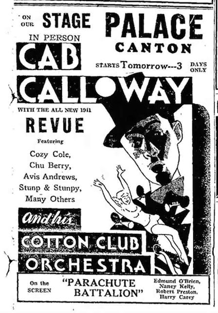 Cab Calloway in Canton, Ohio, 5 September 1941 worldwartwo.filminspector.com