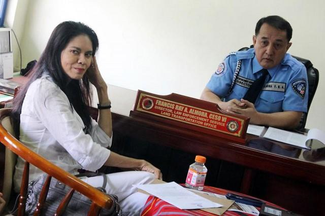 LTO suspends Maria Isabel Lopez' license
