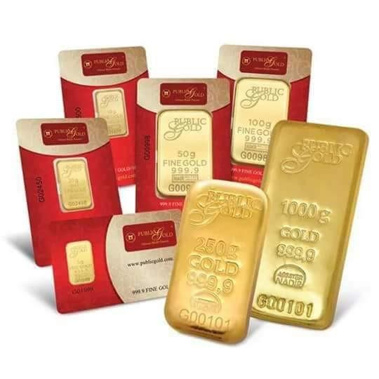 Kaedah Membeli Emas Jenama Public Gold