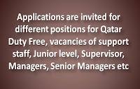 Jobs in Qatar Duty Free | Apply Online