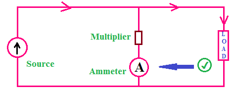 How to connect the ammeter in parallel, voltmeter and ammeter connection series and parallel