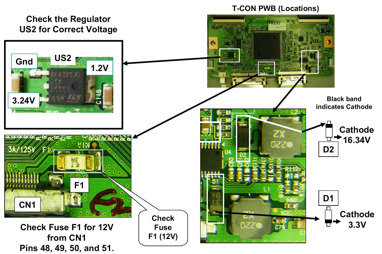 carrier circuit board wiring diagram lg 37lh55 - t-con board - removal [lcd controller board ... t con board circuit diagram