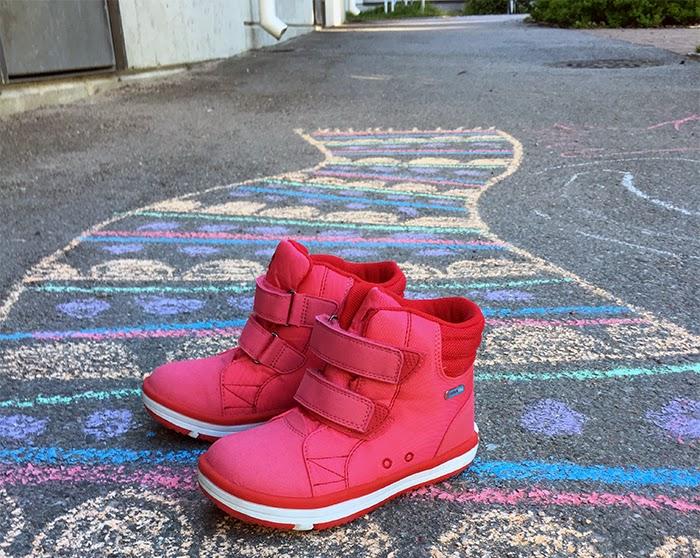 Reimatec, Välikausikengät, Patter Wash, tarrakengät, tyttöjen kengät