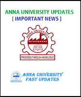 Anna University coe1.annauniv.edu Controller of Examinations Students Portal Updates
