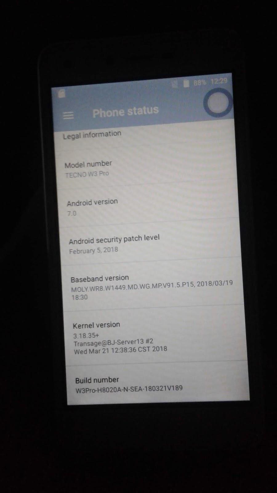 Tecno W3 pro stock rom Archives - robin mobile