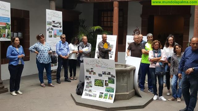 Más de 30 centros educativos conocen la realidad agrícola y ganadera de La Palma gracias al proyecto de huertos escolares ecológicos