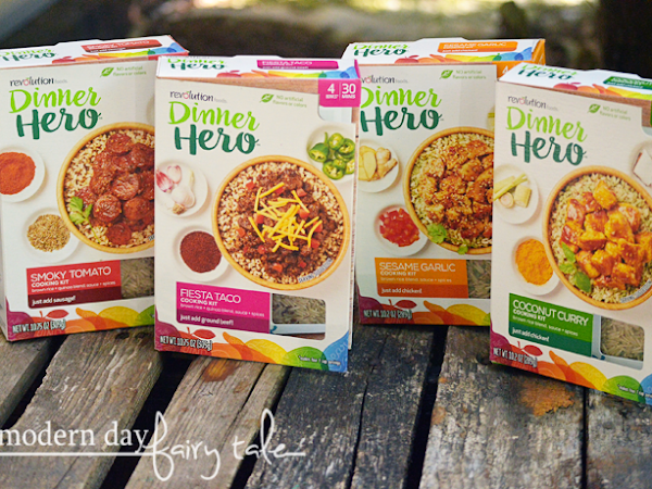 Be A Dinner Hero with Revolution Foods {A Giveaway} #howdoyouhero #revolutionfoods