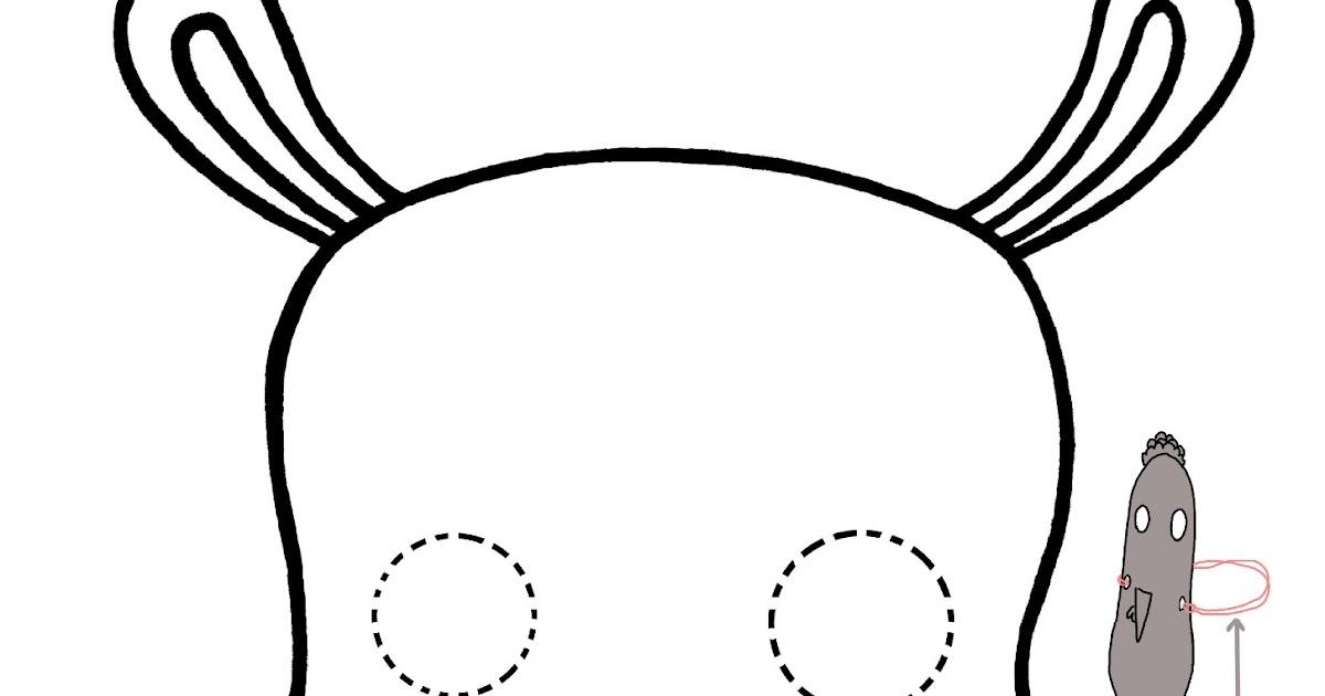 Le Super Blog De Mamie Poule Le Hip Hip Hippo Masque De Lhippopo