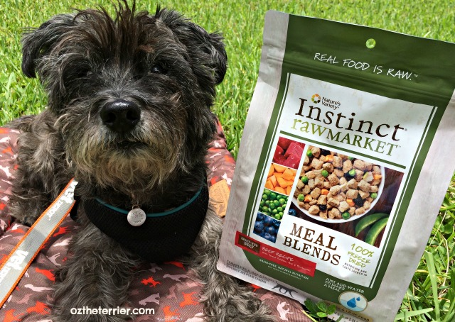 Oz and Nature's Variety Instinct Raw Market Meal Blends