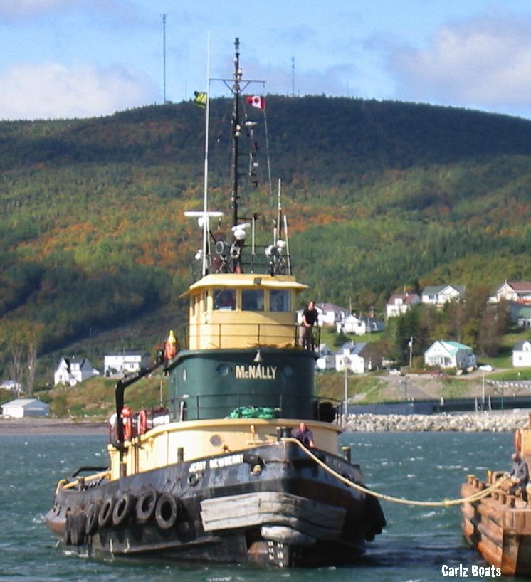 Carlz Boats: Tug Boat JERRY NEWBERRY