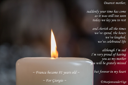 Dearest mother ~ For Giorgio ~