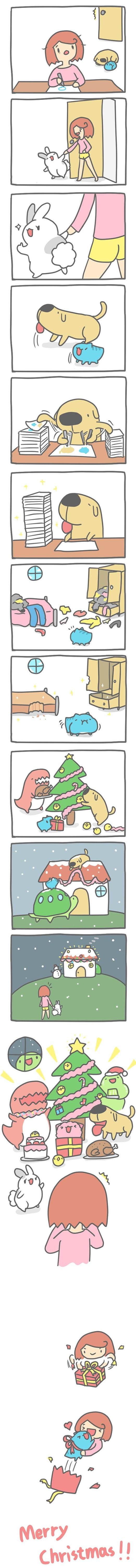 Truyện Mìn Lèo #86: Chúc mừng giáng sinh