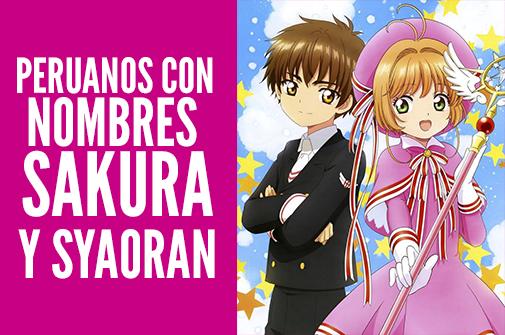 Otaku Press Investigo En Exclusiva Cuantos Peruanos Tienen Nombres Vinculados A Los Personajes Del Popular Anime Cardcaptor Sakura