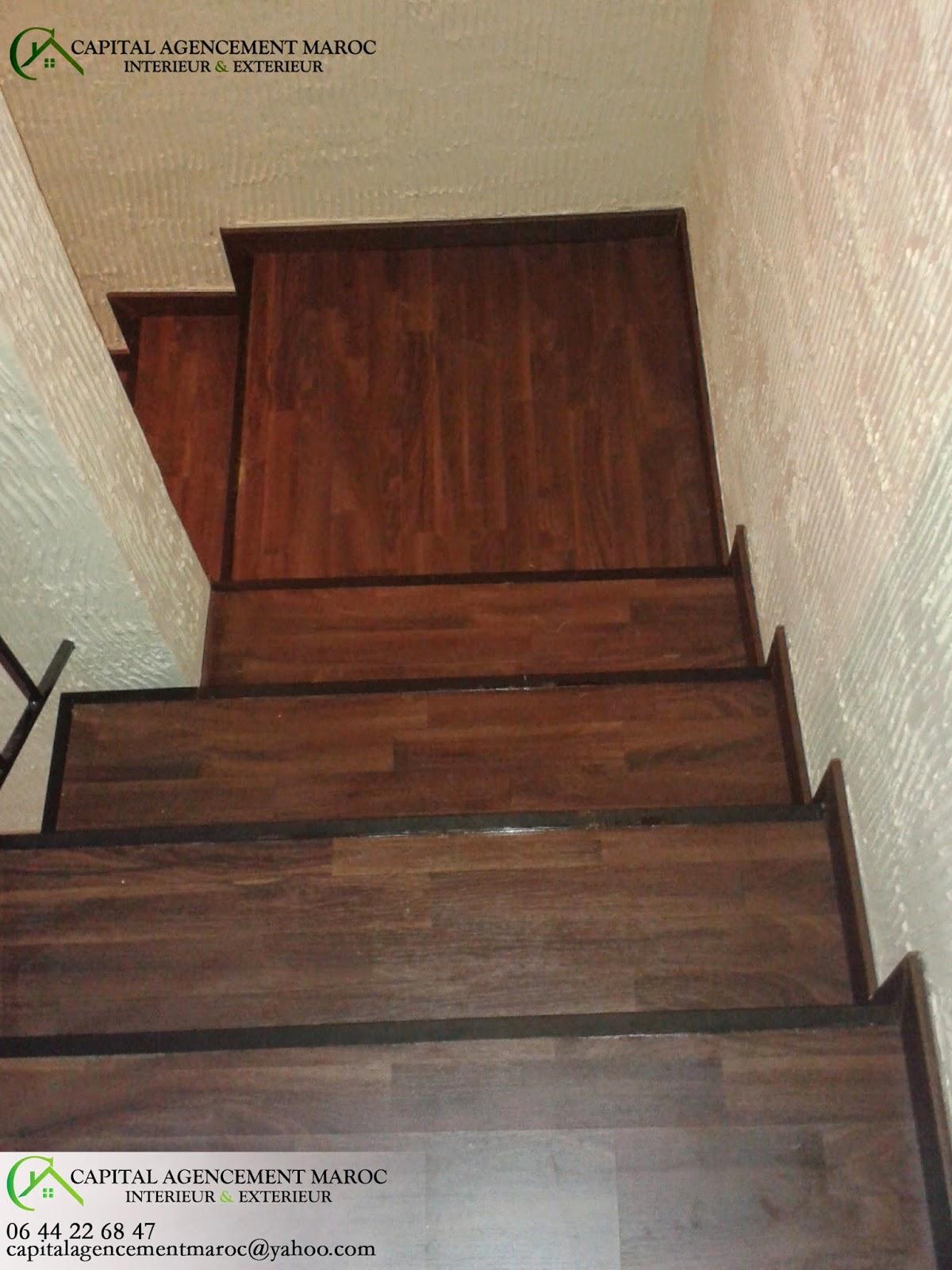 parquet flottant escalier renovation escalier carrelage collection et ranovation descaliers. Black Bedroom Furniture Sets. Home Design Ideas