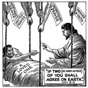 Christian Comic With Bible Quote