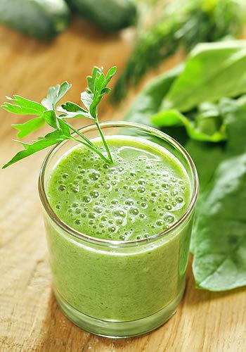 suco verde de um dia pro outro
