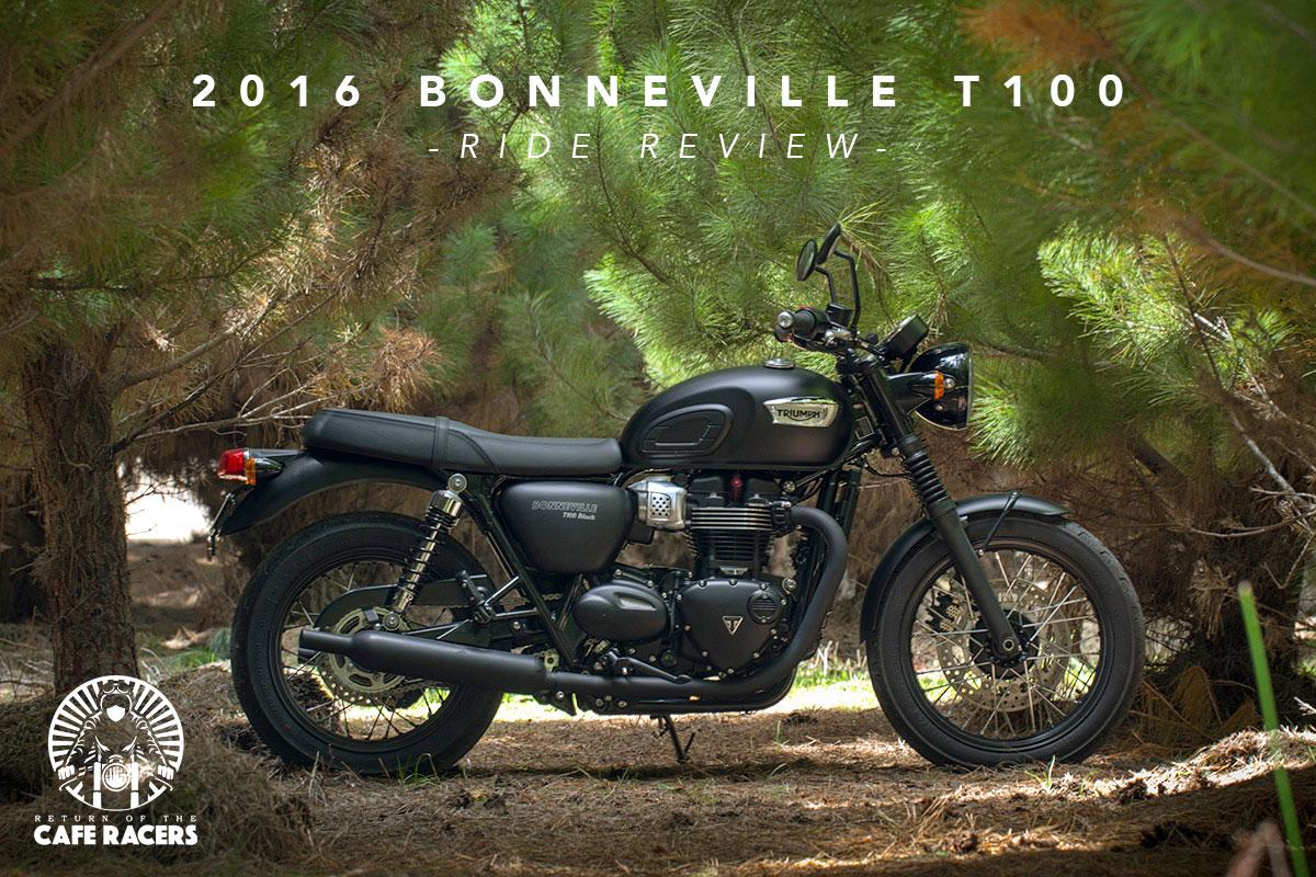 Préférence Ride Review - Triumph Bonneville T100   Return of the Cafe Racers IY49