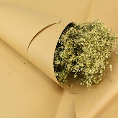 Kertas Buket Bunga / Flower Bouquet Wrapping Paper (Seri NP)
