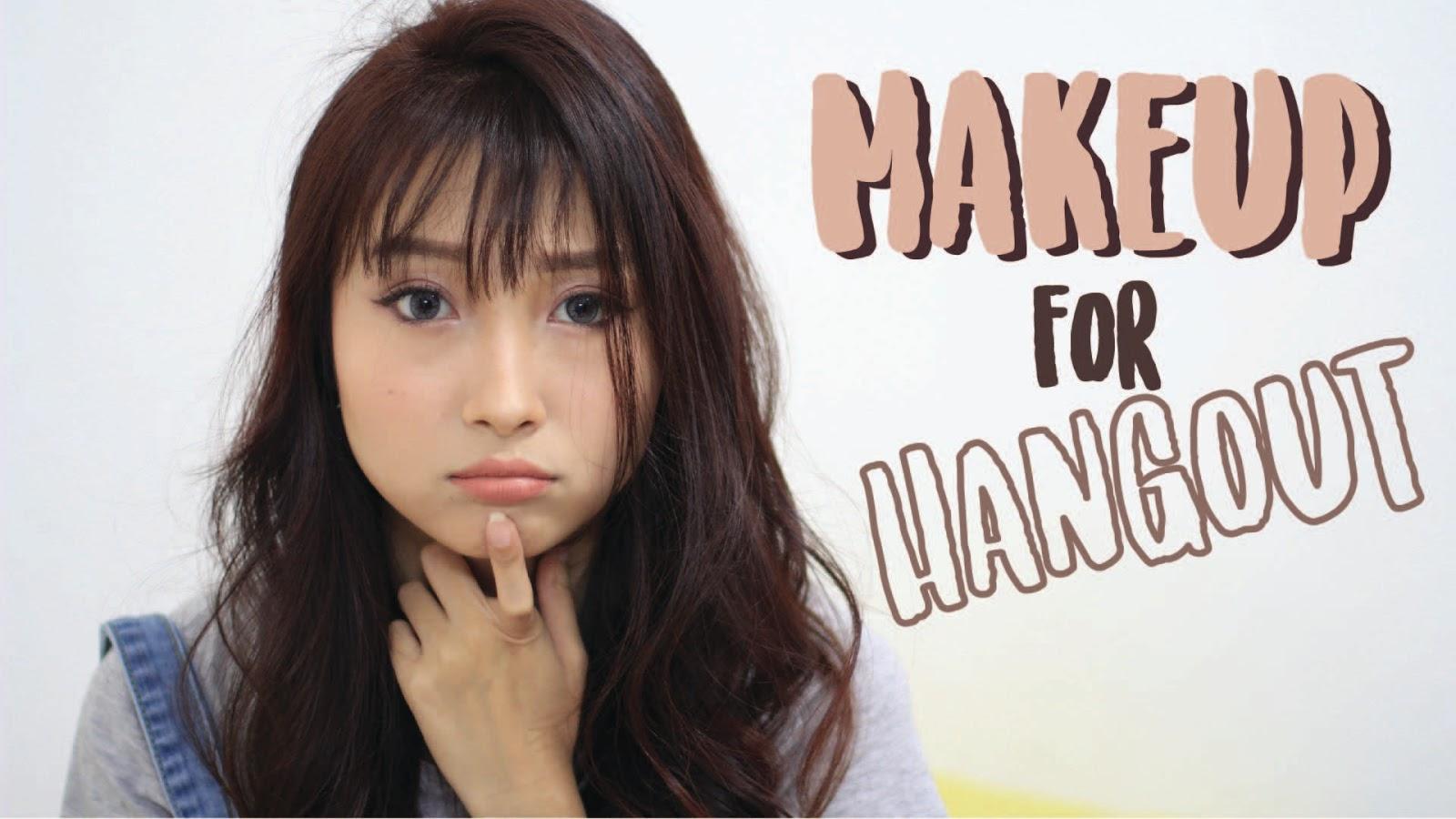 Makeup Hangout Tutorial - Korean Makeup Look