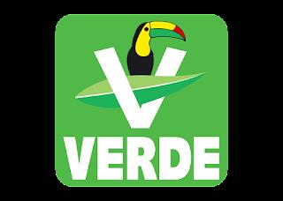 Partido verde ecologista Logo Vector