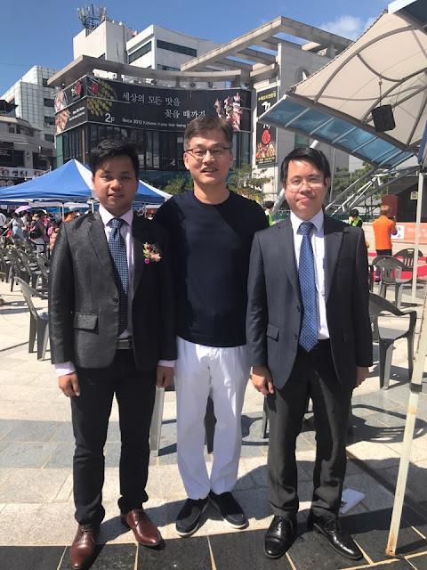 bệnh viện jw đồng hành cùng lễ hội người việt tại thành phố daejeon
