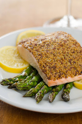 Low-Carb Sheet Pan Meals with Asparagus featured for Low-Carb Recipe Love on KalynsKitchen.com.