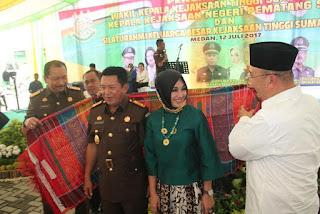 Walikota Medan Sambut Baik Kedatangan Wakil Kejatisu