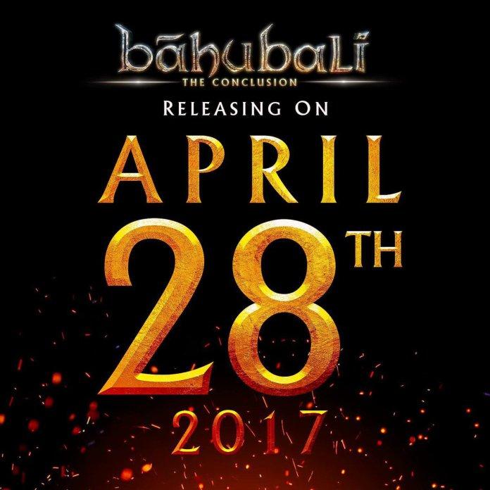 Baahubali 2 Movie Release Date