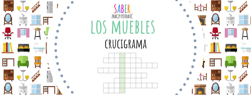 LOS MUEBLES: crucigrama | MEBLE: krzyżówka
