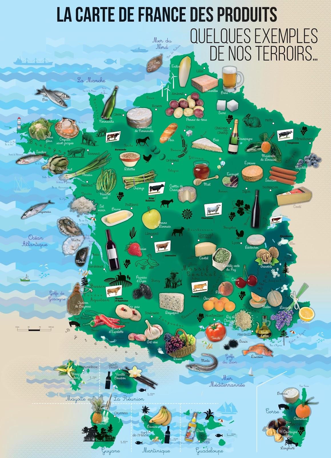 La Ville Gastronomique De France