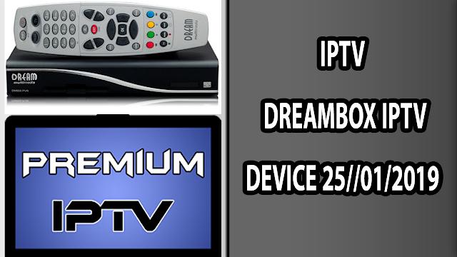 IPTV DREAMBOX IPTV DEVICE 25//01/2019