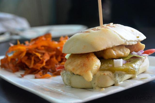 fish burger קפה גרג